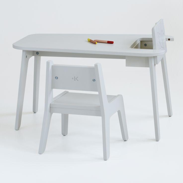 KUKUU - Kindertafel en stoel Bird & Berry