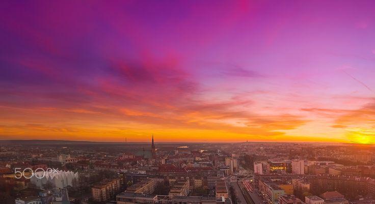 color of sky by Kamil Malecki on 500px