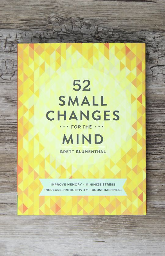 52 Small Changes For The Mind - Paperback