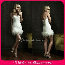 2014 Sexy Short Wedding Dress