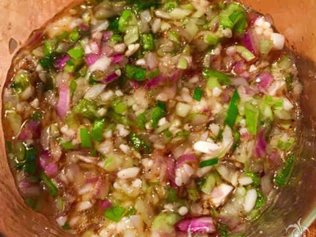 万能ねぎ塩麹だれ❤️マクロビ調味料の画像