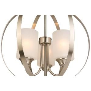 The 25 best hampton bay lighting ideas on pinterest wall hampton bay 3 light brushed nickel chandelier wb1002 cl at the home depot aloadofball Choice Image