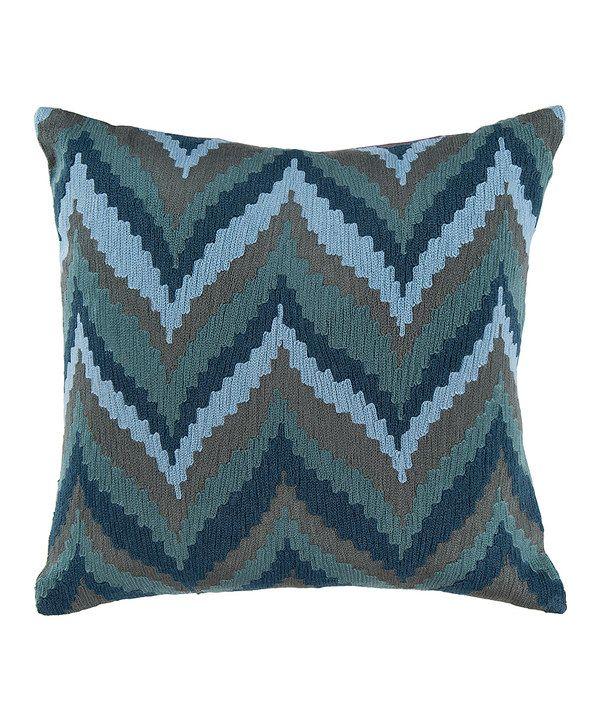 Slate Blue Throw Pillow Cushions, Throw pillows and Blue throw pillows