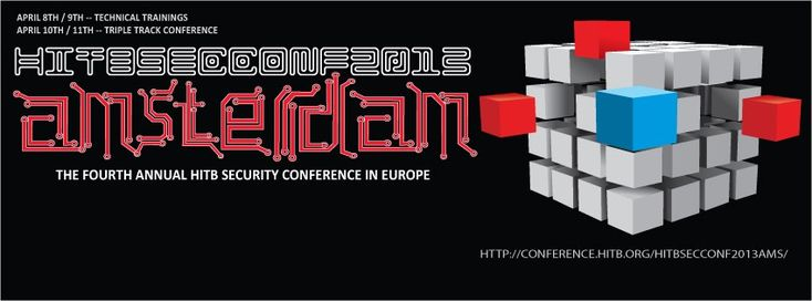 Now you can watch live stream of HITB Amsterdam 2013 conference with evad3rs team's speech and possibilty of iOS 6.1.3 jailbreak release