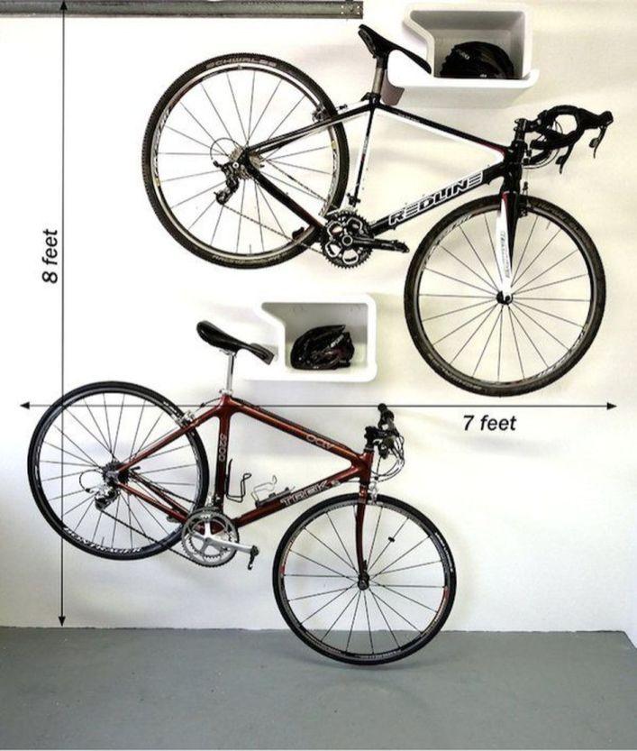 90 Brilliant Ideas To Make Hanging Bike Storage 54 Bike Hanger Bike Storage Garage Bike Storage Solutions