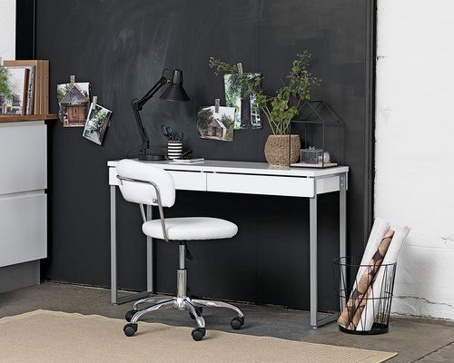 Desk STEGE high gloss white