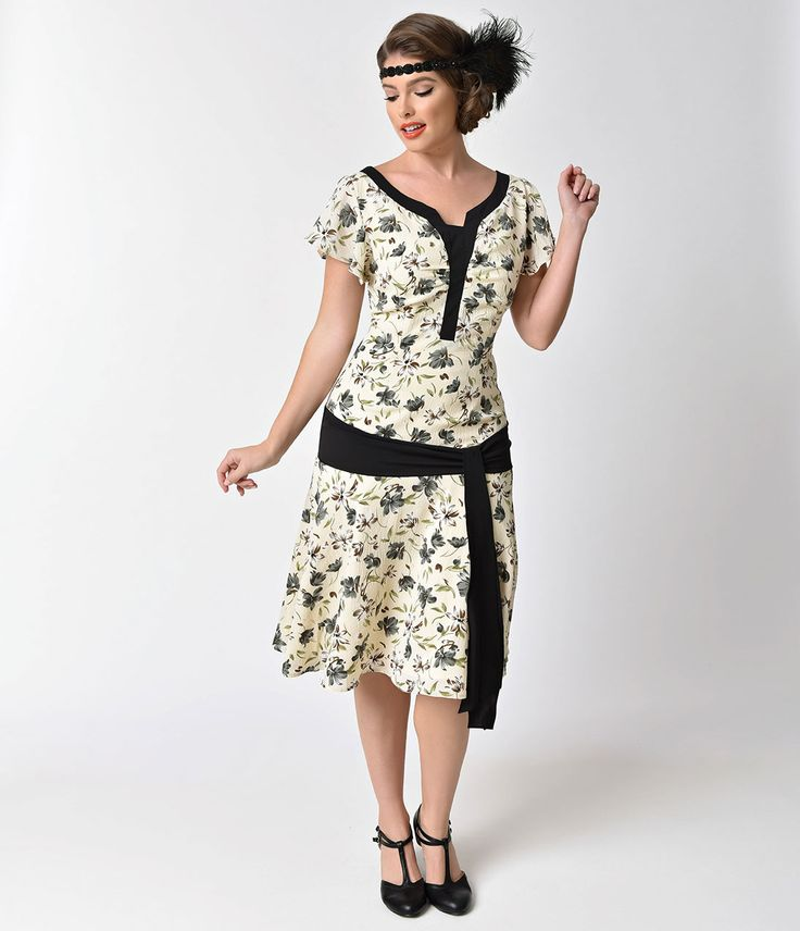 20s style day dresses