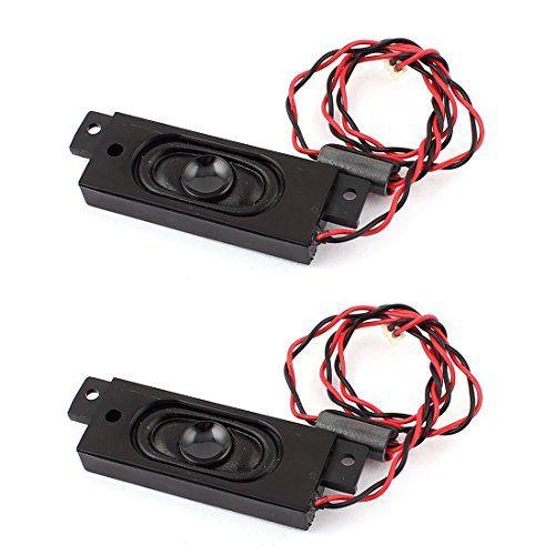 2pcs 2W 8 Ohm Solde Magnet plug Rectangle Président Amplificateur