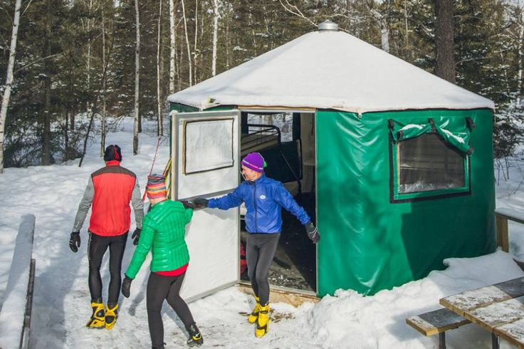 Glamping - camping in comfort in Ontario Parks