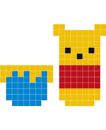 Stickaz - Winnie the Pooh pixel art