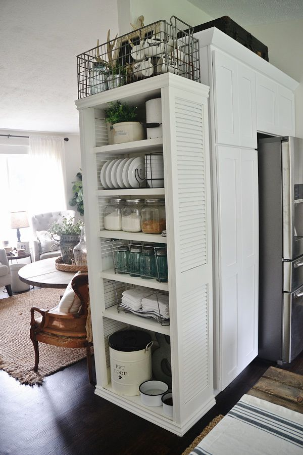 diy kitchen shelves - Kitchen Storage Shelves Ideas