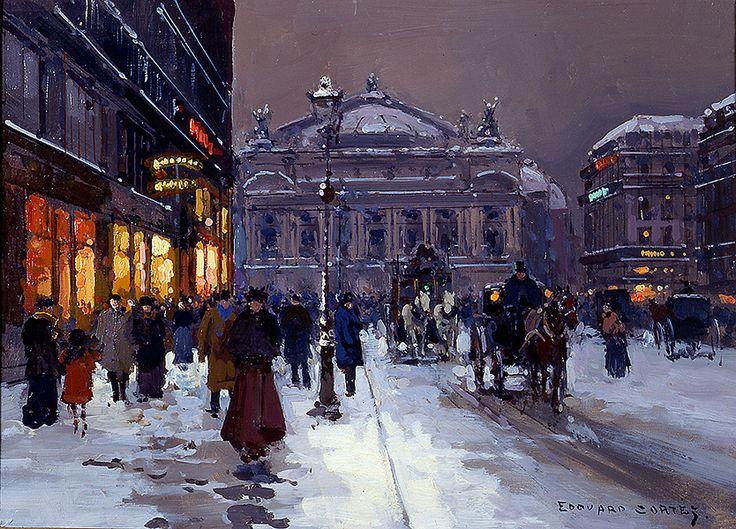 Edouard Leon Cortes Avenue De L'Opera, Paris