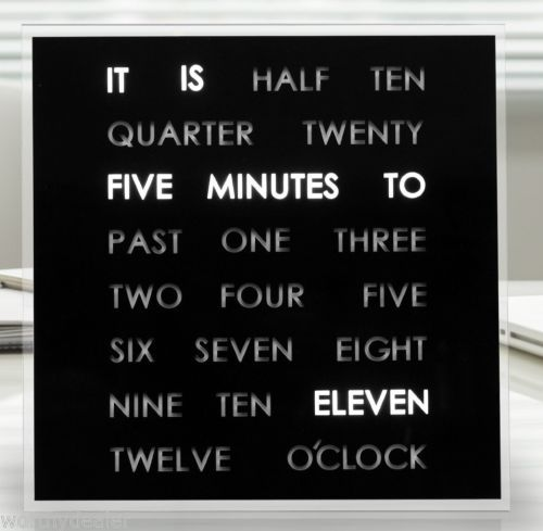 LED-Word-Clock-A-clock-that-displays-the-time-in-text-Decorative-desk-or-wall