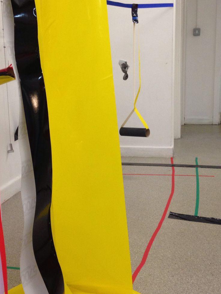 Marlow Moss inspired workshop, creating 3D sculptures. Leeds Art Gallery, September 2014