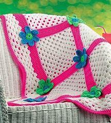 Retro Crochet Afghan ~ free pattern