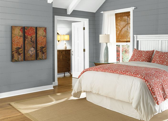 Behr slate rock nursery wall color baby oh baby for Change furniture color