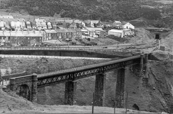 CYMMER VIADUCT & TUNNEL in 1971