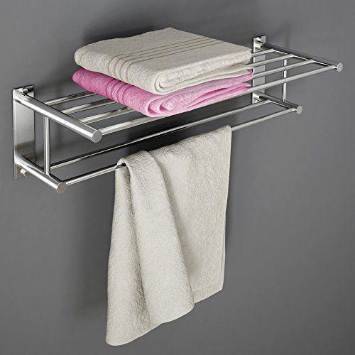 Oltre 25 fantastiche idee su asciugamani da bagno su - Porta asciugamani bagno senza forare muro ...