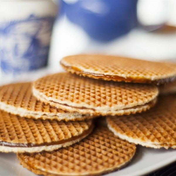 """Stroopwafels with Treacle   """"We all love stroopwafels with a cup of coffee or tea - it's a favorite Dutch treat. Try making them at home with this recipe!"""""""