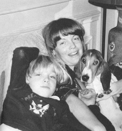 Romy Schneider and son David - romy-schneider Photo