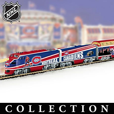 """Montreal Canadiens® Express"" Illuminated Electric Train"