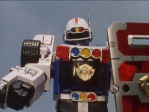 Robo Racer Zord Debut Battle | Blue Senturion (Power Rangers Turbo)