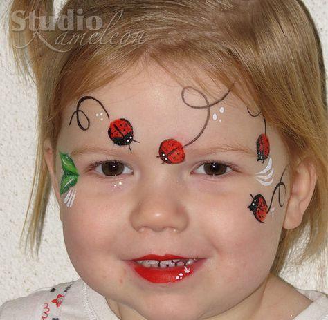 7 besten schminken fasnacht bilder auf pinterest karneval bemalte gesichter und kinder schminken. Black Bedroom Furniture Sets. Home Design Ideas