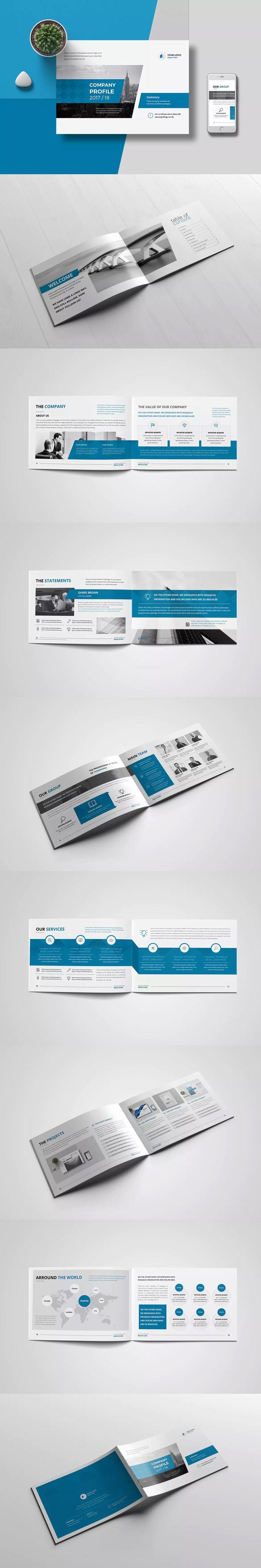 Company Profile 2017 Template INDD - A5
