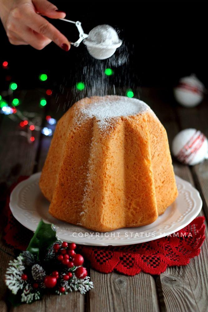 pandoro classico senza sfogliatura facile ricetta dolce lievitato di Natale