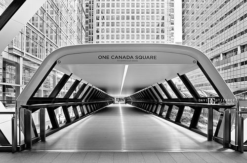 """Adam Plaza Bridge"" One Canada Square, London, UK   Flickr - Photo Sharing!"