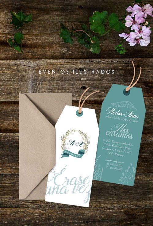 Invitaciones de boda con forma de punto de libro, muy original! Perfecto para parejas amantes de los libros, profesores, ...