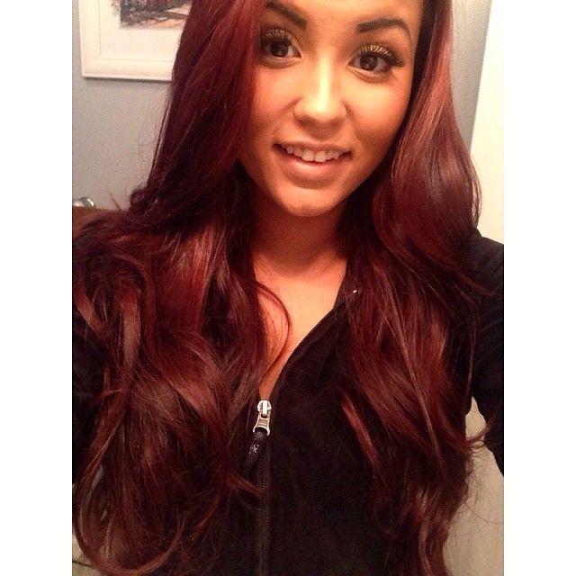 Red Hair Revlon Colorstay Luminista Hair Nails Beauty