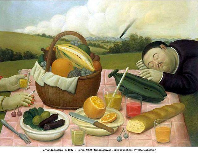 Fernando Botero - Picnic