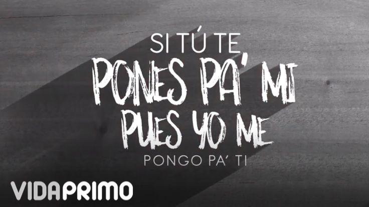 "Ñejo - Ponte Pa' Mi ft. Jamby ""EL Favo"", Mr. D [Lyric Video] - YouTube"