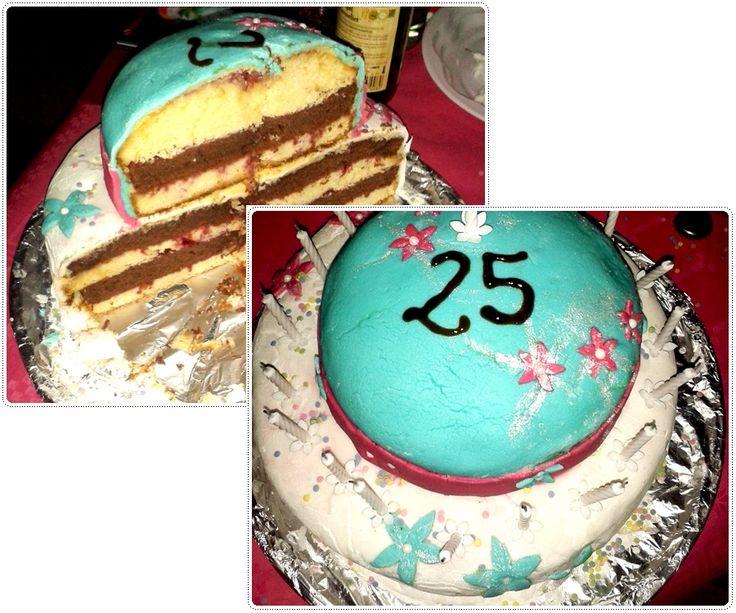 Le gâteau du quart de siècle