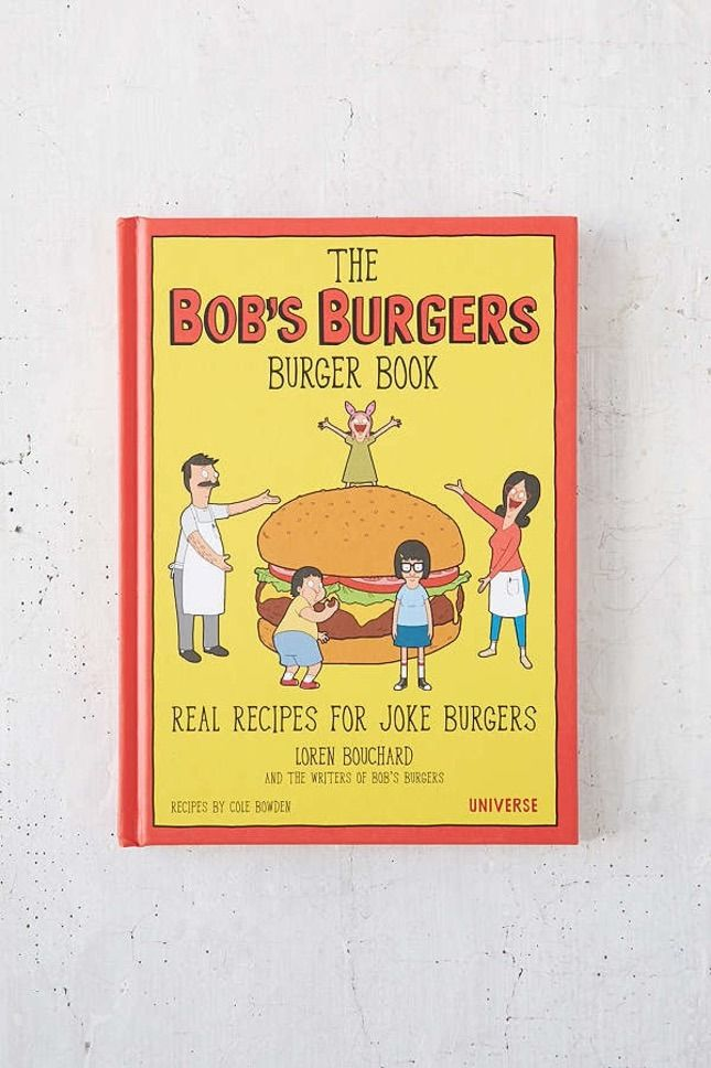 You are definitely going to want to pick up a copy of this The Bob's Burgers Burger Book for National Burger Day!