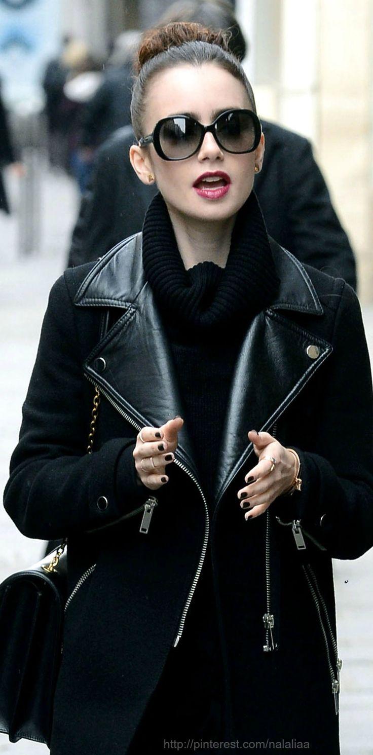 Street style fashion / karen cox. Blackout - fall street style