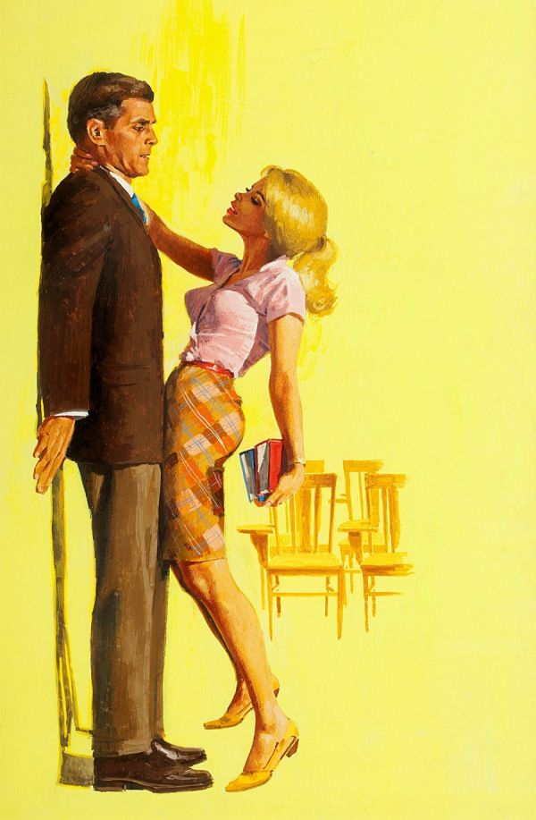 Pulp Art Cover Illustration | Pulp Art Women | Sugary.Sweet | #Pulp #PulpArt #Illustration #Vintage #Men