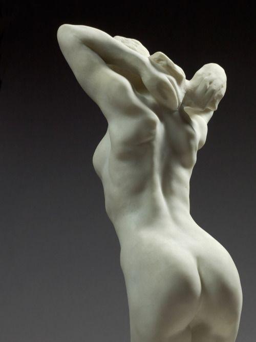 "Rodin / ""The kneeling Female Faun"""