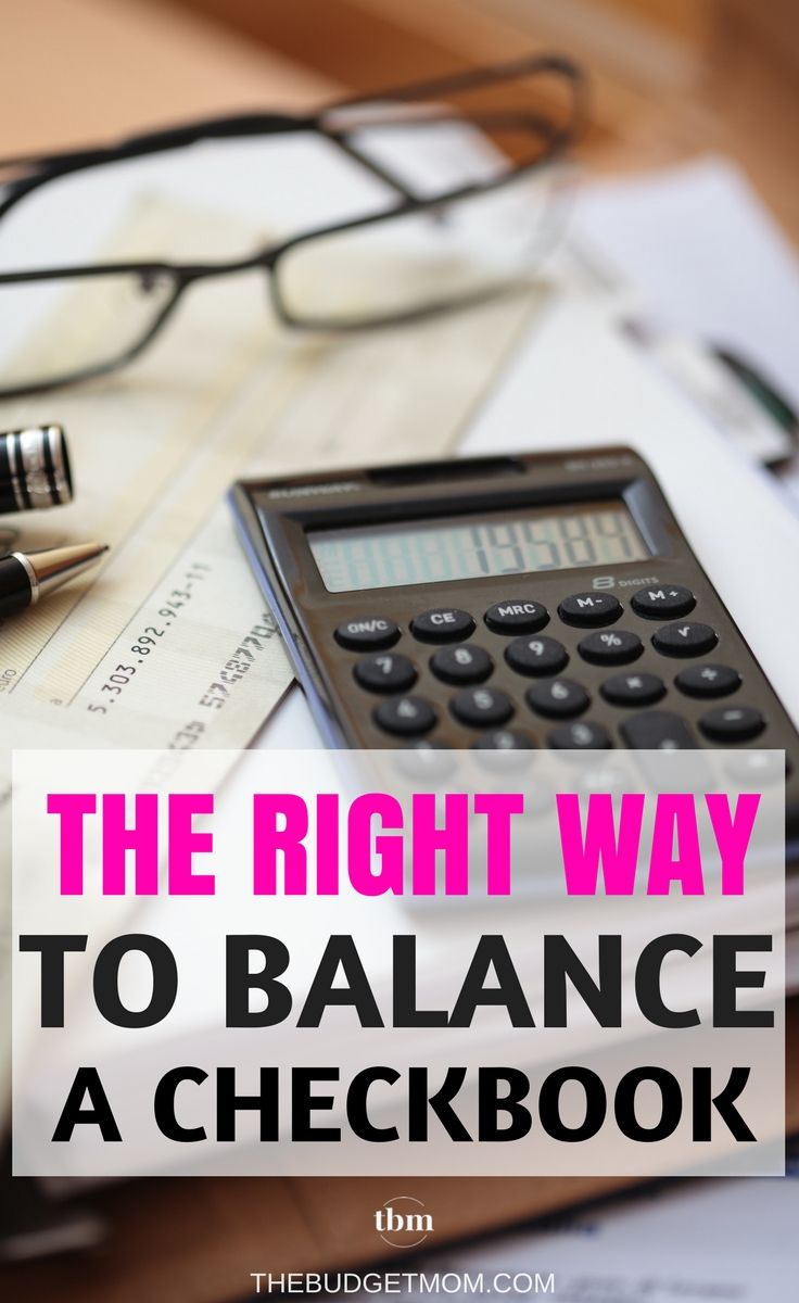 Balancing a checkbook might seem like a thing of the past, but it's one of the most basic habits of good financial management. Tips | Money | Strategies | Easy via @thebudgetmom