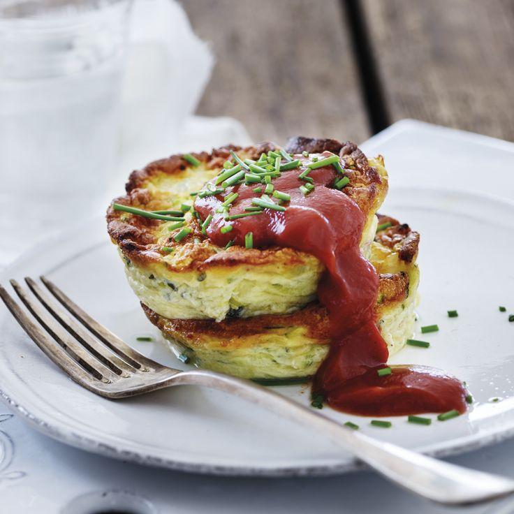 Opskrift: Morgenmuffins fyldt med protein