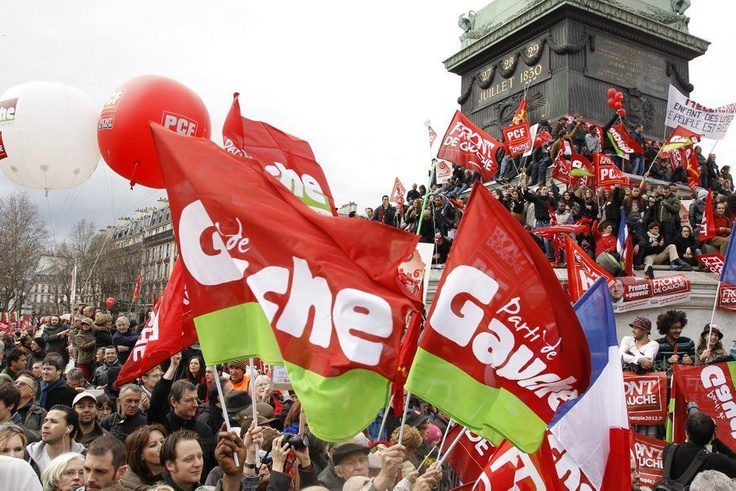 Parti de Gauche rally