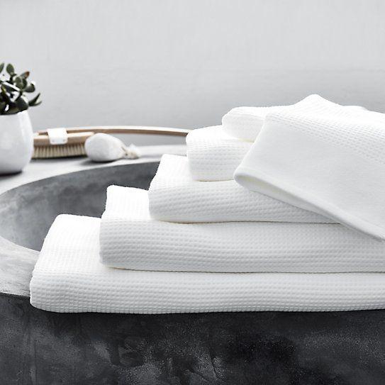 Baths by Clay: Inspiration - Bathroom accessories: Super soft waffle towel