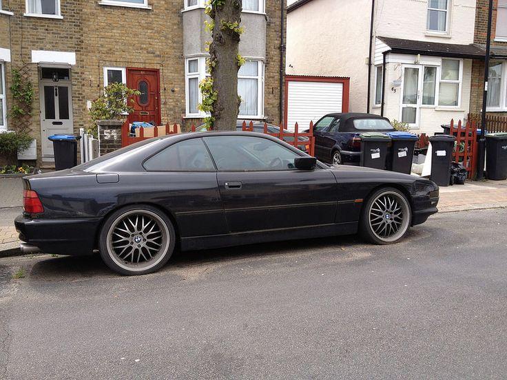 1995 BMW 840i abandon neglected