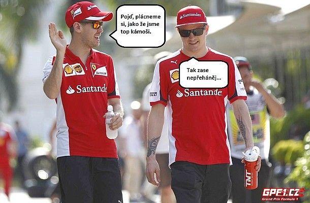 Co v tiskových materiálech nebylo z GP Malajsie 2015