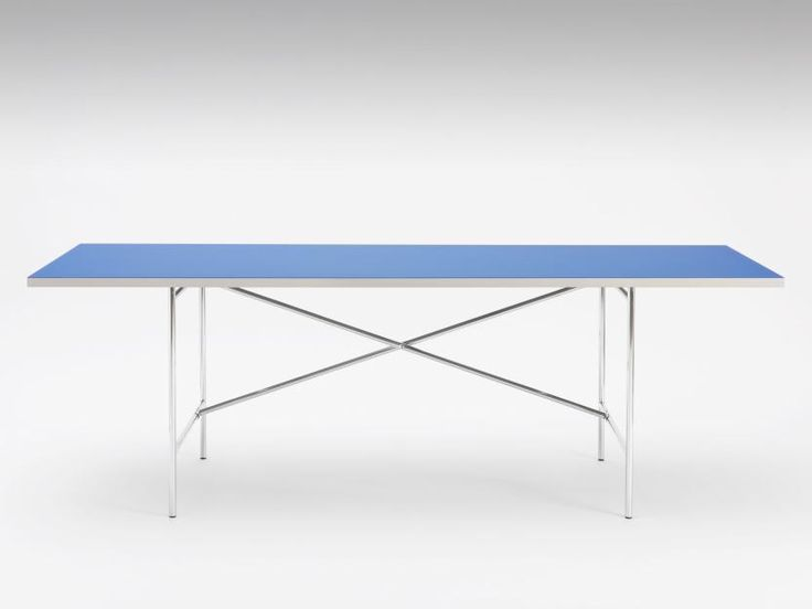 E2 Kreuz versetzt, Tischgestell | Faust Linoleum