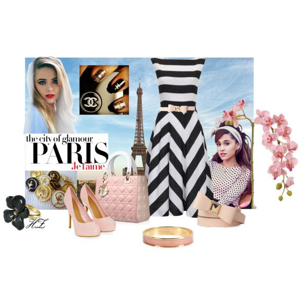 """""""Perfectly Pretty in Paris!"""" by cog-hz on Polyvore"""