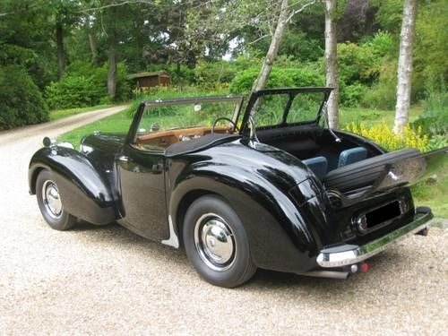 1946 Triumph Roadster 1800 Maintenance/restoration of old/vintage vehicles: the material for new cogs/casters/gears/pads could be cast polyamide which I (Cast polyamide) can produce. My contact: tatjana.alic@windowslive.com