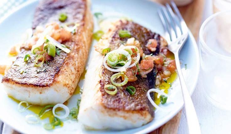 Recette cabillaud la plancha sauce chien recettes cap - Cuisiner saumon surgele ...