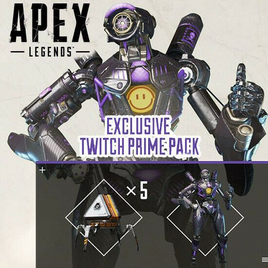 APEX Legends Twitch prime bonus pack [PC, PS4, Xbox one